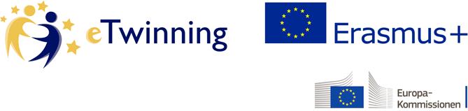 eTwinning og Erasmus+ logo